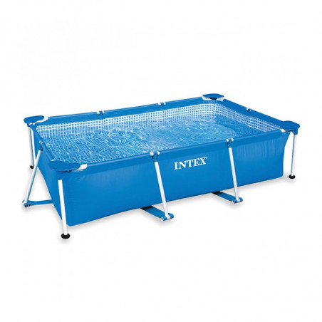 Piscina Metal Frame Junior Intex 220x150x60