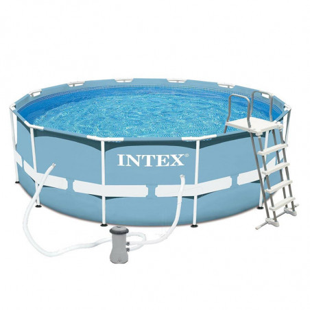 Piscina tubular PRISM FRAME Ø366x122 INTEX